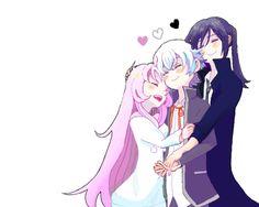 Neko x Kuroh x Shiro (K-Project) More - Anime Anime Chibi, Kawaii Anime, Manga Anime, Kk Project, Missing Kings, Genesis Evangelion, Kagerou Project, Japanese Cartoon, I Love Anime