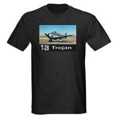 T-28 TROJAN AIRCRAFT Dark T-Shirt> T-28 Trojan Trainer Aircraft> Zoom Wear #Shirts