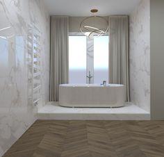 3D látványterv FAP Nest, Roma Diamond és Bloom burkolattal #3dlátványterv #3dlátványtervezés #baustyl #lakberendezes #lakberendezesiotletek #stylehome #otthon #homedecor #inspiration #design #homeinspiration #interiordesign #interior #elevation #3dplan #bathroom #bathtub #Fap #walltiles #floortiles 3d Visualization, Bathroom Ideas, Bathtub, Home Decor, Standing Bath, Bathtubs, Decoration Home, Room Decor, Bath Tube