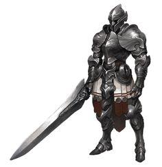 heavy sword knight