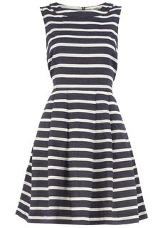 Stripe high neck dress - View All - Dresses - Dorothy Perkins United States