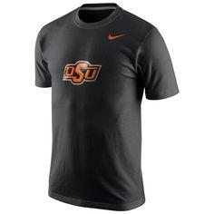 Oklahoma State Cowboys Nike Logo T-Shirt – Black