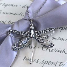 Dragonfly Pendant Necklace your choice of Openwork, Silver plated brass, Verdigris patina or Oxidized Brass Dragonfly Wall Art, Dragonfly Jewelry, Dragonfly Pendant, Diamond Pendant Necklace, Diamond Necklaces, Necklace Designs, Gold Chains, Etsy, Copper