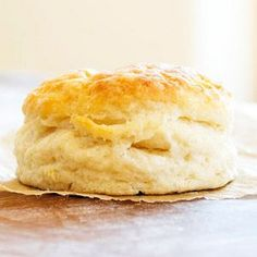 This piping hot, flaky biscuit recipe can be ready in less than 30 minutes. Store the homemade baking powder in a sealed container for the next time you're in the mood for quick bread.