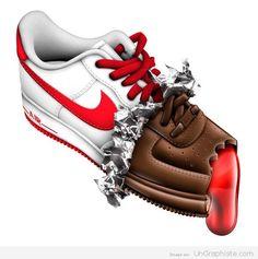 various colors 2b9e2 a7591 Nike Air Max Air Force 1 Sneaker Art, Nike Air Force, Nike Air Max