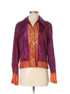 thredUP is the world's largest online thrift store where you can buy and sell high-quality secondhand clothes. Find your favorite brands at up to off. Online Thrift Store, Second Hand Clothes, Coldwater Creek, Comfortable Outfits, Dark Purple, Silk Top, Everyday Outfits, Thrifting, Stylish
