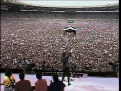 Paul Young ☮ Every Time You Go Away (Highest Quality) Paul Young, Live Aid, Wembley Stadium, Status Quo, Going Away, Album Songs, World's Biggest, Kinds Of Music, Rock Stars