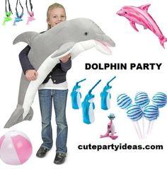 dolphin party ideas
