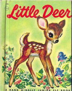 VINTAGE LITTLE DEER CHILDRENS BOOK