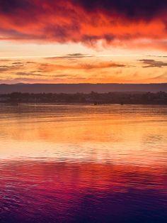 ✯ Humboldt Bay April Dawn
