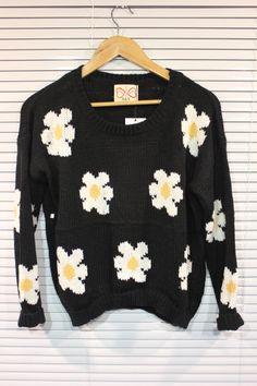 Daisy sweater.
