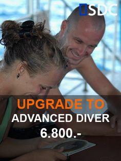 Similan Dive Center Upgrade to Padi Advanced Open Water diver