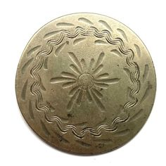 Antique Button ~ Very Fine, Engraved Large 18th Century Pewter w Floral Buttons For Sale, 18th Century, Pewter, Coins, Personalized Items, Antiques, Floral, Tin, Antiquities
