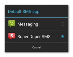 Getting Your SMS Apps Ready for KitKat | Android Developers Blog