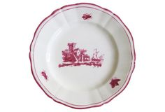 French  Faience    Plates  S/6