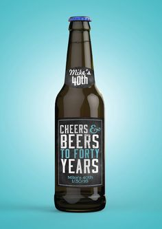Personalized DIGITAL Beer Labels Cheers and beers by LyonsPrints