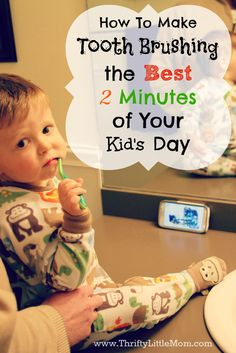 How To Make Tooth Brushing the Best 2 Minutes of Your Kid's Day. Tips for helping your child to enjoy their brushing routine. #ProHealthKids #ad post