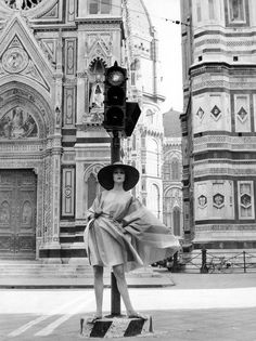 Vintage Florence Italy Fashion Shot