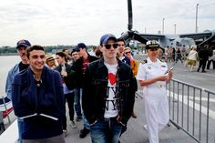 """This year, the annual event known as Fleet Week is coinciding with a Broadway run of """"On the Town"""" for the first time, giving actors and seamen a chance to compare notes."""