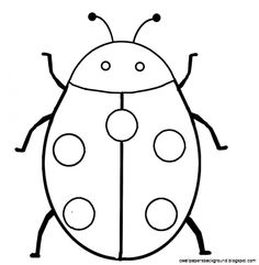 printable ladybug coloring pages animal