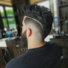 Top 137 Cool Haircuts for Men women love it! Combover Hairstyles, Pony Hairstyles, Trendy Hairstyles, Amazing Hairstyles, Trending Haircuts, Cool Haircuts, Haircuts For Men, Buzz Haircut, Fade Haircut