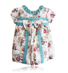 Spanish baby clothes | baby baby girl dress | Floral print dress 1