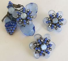Lovely Vintage Miriam Haskell Brooch & by TyTimelessSparkles