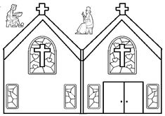 Religion Catolica, Bless The Lord, Spring Theme, Spring Activities, Kirchen, Holidays And Events, Kindergarten, Gallery Wall, Diagram