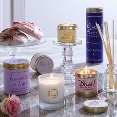 Smells like Heaven // Lily Flame Candles // Fairy Dust // Gift Ideas