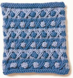 Free Crochet Pattern: Bobbles and Brambles