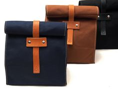 Artifact Bag Co. / 215-D Duck Canvas Lunch Tote