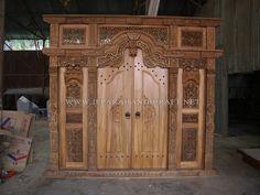 Pintu Ukir Terbaik Gebyok ukuran 300 X 275 Cm