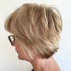 25+ Older Womens Short Haircuts - http://www.2016hairstyleideas.com/haircuts/25-older-womens-short-haircuts.html
