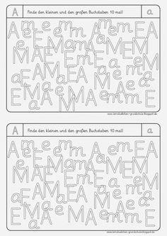 hier die letzte Datei   große und kleine Buchstaben mit Überschneidung     LG Gille   Schrift: Grundschrift Will Software      und hier de...