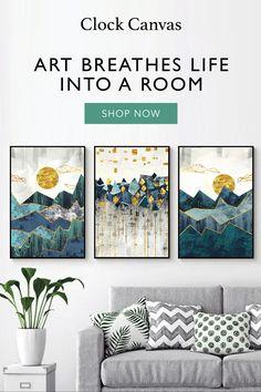 Creative Wall Decor, Creative Walls, House Color Schemes Interior, Interior Design, Diy Bedroom Decor, Living Room Decor, Home Office Decor, Home Decor, Refurbished Furniture
