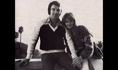 Bonnie and Robert in 70s ♡  #bonnietyler #robertsullivan #1970s #love #gaynorhopkins #gaynorsullivan #young