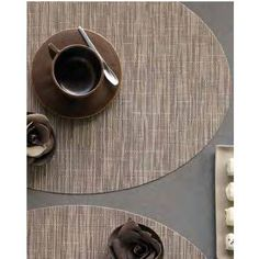 Chilewich 0105-BAMB Oval Bamboo Placemat (Set of 4) Color: Chocolate by Chilewich. $64.00. Chilewich 0105-BAMB These often imitated but never replicated products are recognized and revered internationally for their modern design, ease of care and durability. Made almost entirely in the USA, Chilewich products are seen in better stores and in the finest restaurants in the world. Features: -Collection: Bamboo. -Technique: Woven vinyls. -Oval shape. -Mini basketweave and limit...
