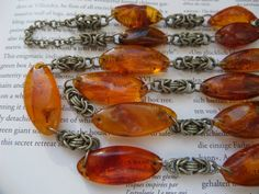 Baltic Amber NecklaceGenuine Amber NecklaceAdult by CodettiSupply