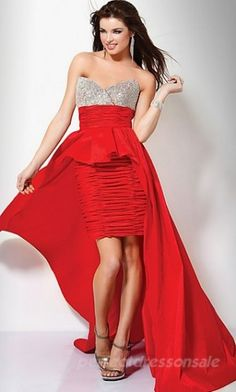 Discount Jovani 71452 on sale at Bally Prom Chiffon Evening Dresses, Evening Gowns, Strapless Dress Formal, Dresses Short, Girls Dresses, Formal Dresses, Dresses 2013, Wedding Dresses, Bridesmaid Dresses