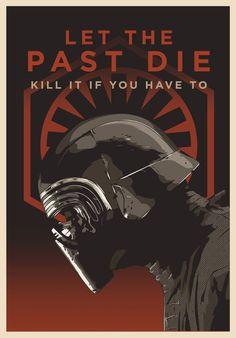 Star Wars: The Last Jedi - Kylo Ren    Art by Devin Doty