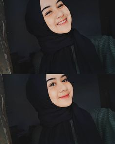 Image may contain: 2 people, selfie and closeup Casual Hijab Outfit, Ootd Hijab, Hijab Chic, Girl Hijab, Muslim Men, Muslim Hijab, Hijab Tutorial, Selfie Poses, Beautiful Hijab