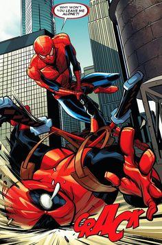 Deadpool vs Spider-Man