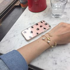 Ashley Saw @ashley__saw Accessorizing right! With our Evil Eye Pink Tint case!