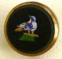 Prix de Boutons anciens de collection : Boutons Micromosaïque - Price of Micro Mosaïc Buttons,