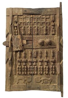 Dogon Granary Door 48, Mali