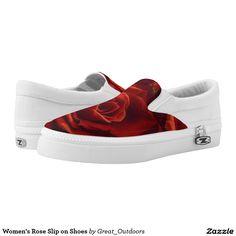 Women's Rose Slip on Shoes