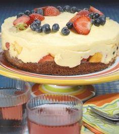 Roomtaart met vers fruit recept | Dr. Oetker