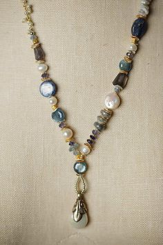 Seaside - Unique and Handmade Gemstone and Sterling Silver Necklaces, Bracelets and Earrings for Women by Anne Vaughan Designer Jewelry