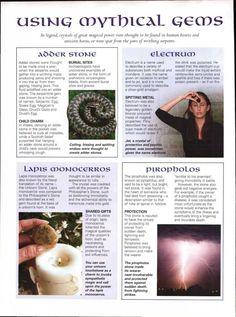 Using mythical gems
