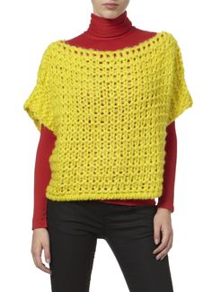 Maybe nice to crochet this Benetton Knitted Tunic.